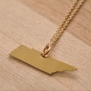 Jewelry - gold tennessee necklace